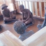 Wooden Sculptures of Slave Children