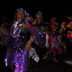Glo Glo Dancing Girls in Southdown Mardi Gras Parade