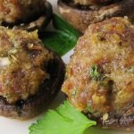 mushrooms stuffed with sausage